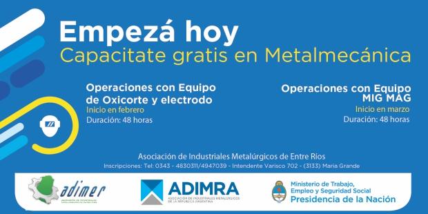 Capacitación en Metalmecánica